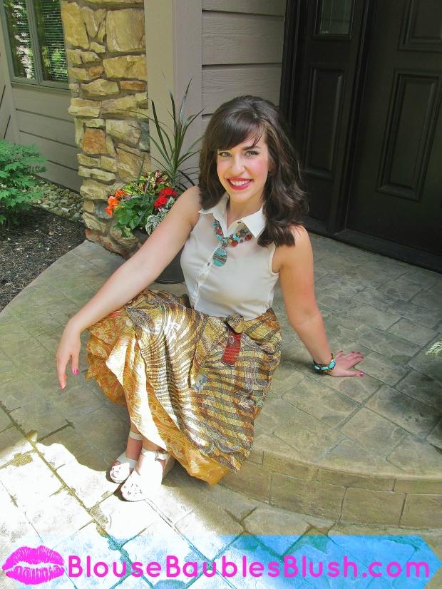 Bohemian Wrap Skirt 3